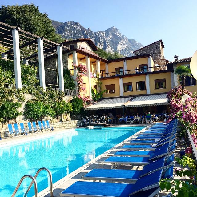 Gardasee: Hotel Palazzina in Gargnano