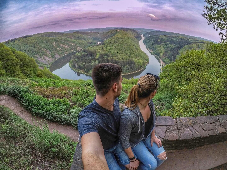 Traumschleife im Saarland: Die Tafeltour ab Mettlach