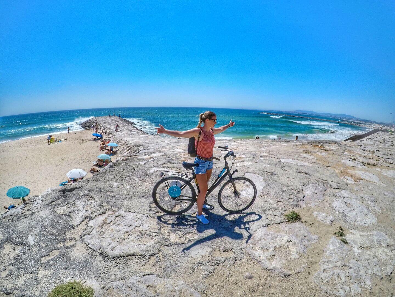 Fahrradtour nach Costa da Caparica
