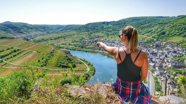 Der Calmont-Klettersteig: Ausflug zum steilsten Weinberg Europas