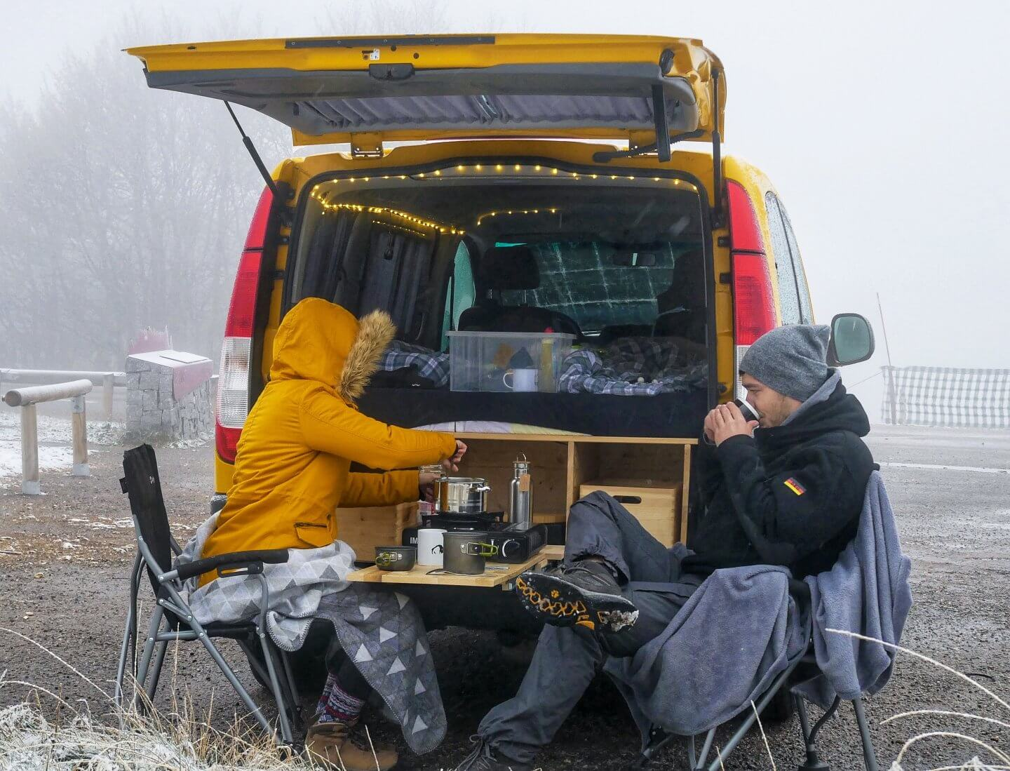 It's cold outside: 5 Tipps für Vanlife im Winter